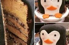 Makerist - Pinguin Torte - 1