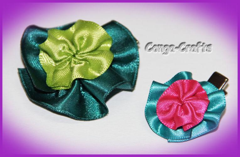 Makerist - Blütenclip als Giveaway u. a. - Nähprojekte - 1