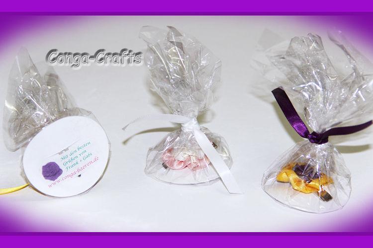 Makerist - Blütenclip als Giveaway u. a. - Nähprojekte - 2