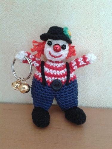 Makerist - Kleine Clownserie - Häkelprojekte - 1