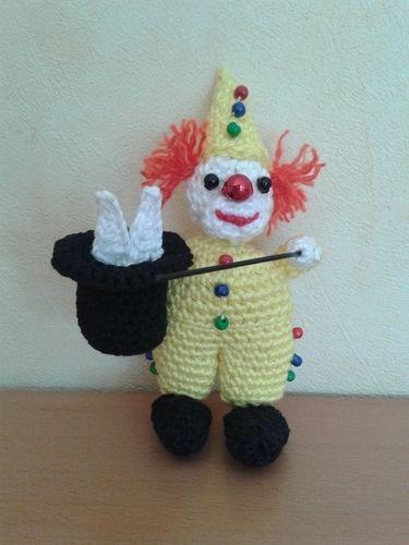 Makerist - Kleine Clownserie - Häkelprojekte - 2