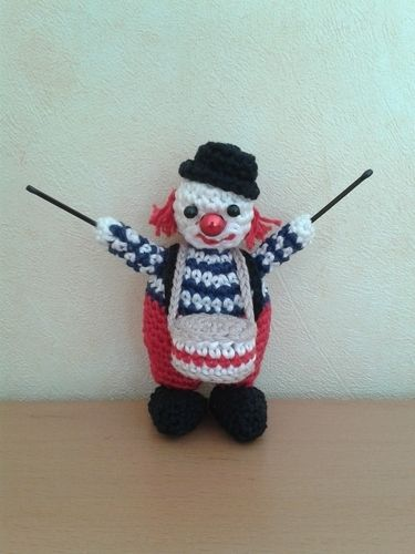 Makerist - Kleine Clownserie - Häkelprojekte - 3
