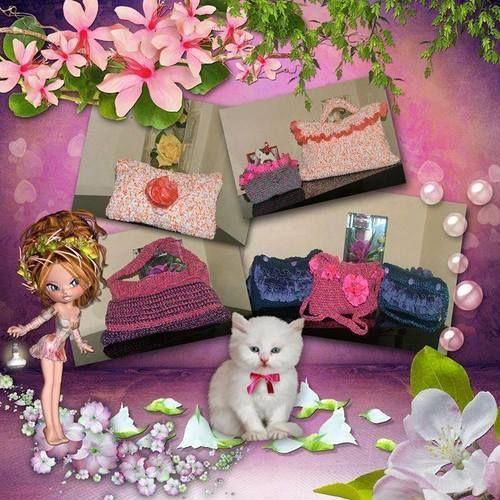 Makerist - sacs et pochettes - Créations de crochet - 1