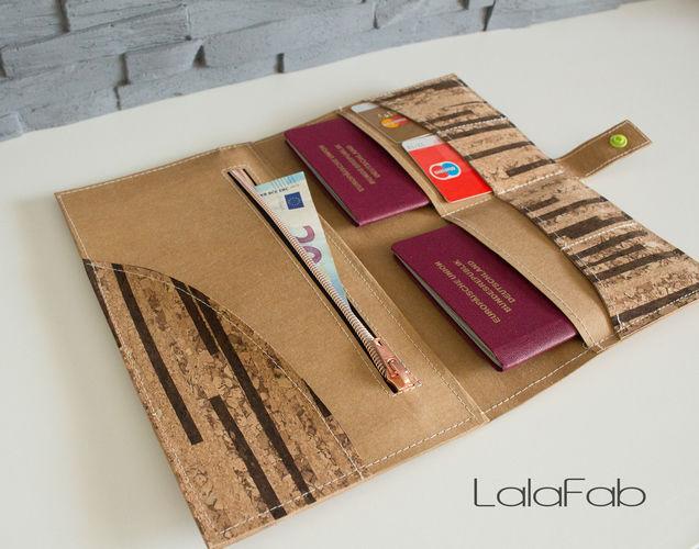 Makerist - Reise-Etui aus Snap Pap und Kork - Nähprojekte - 1