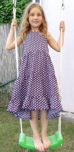 Makerist - Mädchenkleid Rainbow - Nähprojekte - 1