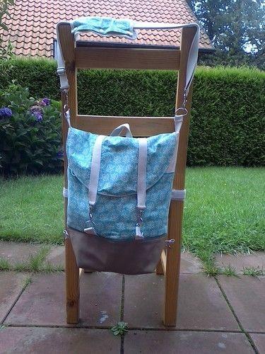 Makerist - Rucksack Pakke abgewandelt - Nähprojekte - 1