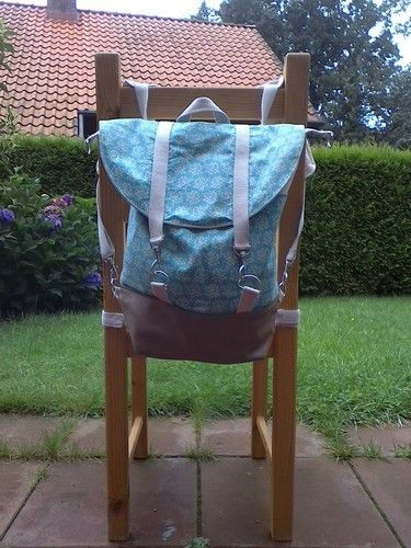 Makerist - Rucksack Pakke abgewandelt - Nähprojekte - 2