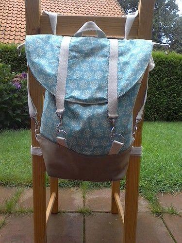 Makerist - Rucksack Pakke abgewandelt - Nähprojekte - 3