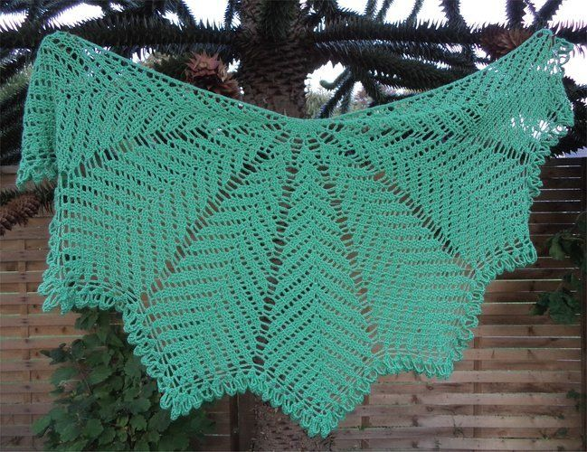 Makerist - Kentia Shawl Nr. 2 - Häkelprojekte - 1