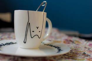 Makerist - Porzellan-Malerei für Crazy Cat Ladies - 1