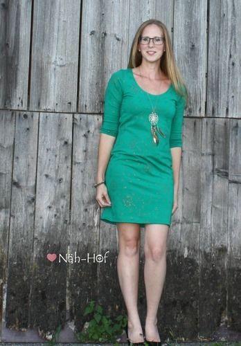 "Makerist - Kleid ""Valerie"" aus Glitterjersey Wishful ease - Nähprojekte - 1"