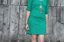 "Makerist - Kleid ""Valerie"" aus Glitterjersey Wishful ease - 1"