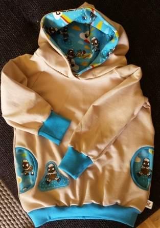 Makerist - Baby-Hoodie Pittiplatsch - 1