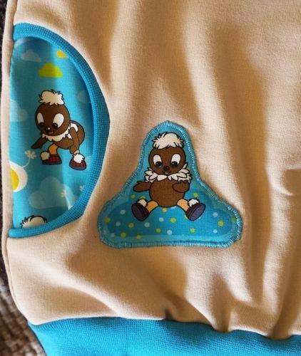 Makerist - Baby-Hoodie Pittiplatsch - Nähprojekte - 2