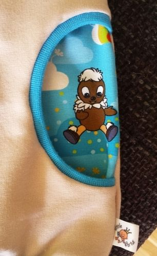 Makerist - Baby-Hoodie Pittiplatsch - Nähprojekte - 3