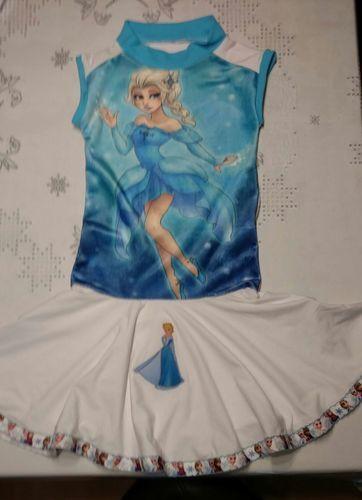 Makerist - Kleid Eisprinzessin Elisa - Nähprojekte - 1
