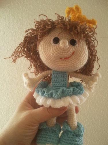 Makerist - Doll Princess toy - Häkelprojekte - 1