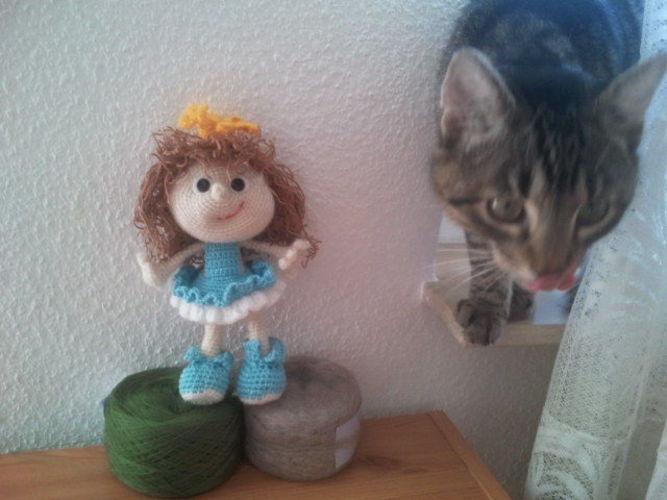 Makerist - Doll Princess toy - Häkelprojekte - 3