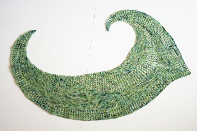 Makerist - Tuch aus einem Strang Sockenwolle °Federleicht° - Strickprojekte - 2
