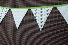 Makerist - Mini-DIY: eine Wimpelkette nähen - 1