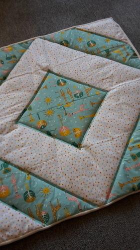 Makerist - Baby-Quilt - Patchwork-Projekte - 1