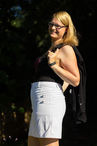 Makerist - Jeansrock Jessy aus weißem Jeansstoff - 1