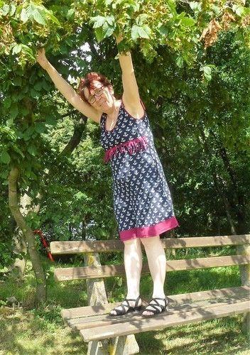 Makerist - Sun-Day-Dress mit Fransen - Schnitt von Paulina näht - Nähprojekte - 2