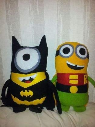 Makerist - minions batman und robin - 1