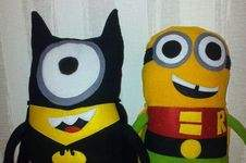 Makerist - minions batman und robin - 1