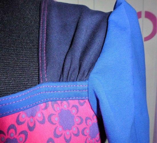 """Makerist - Retroshirt """"Boogie"""" in Pink-Blau - Nähprojekte - 2"""