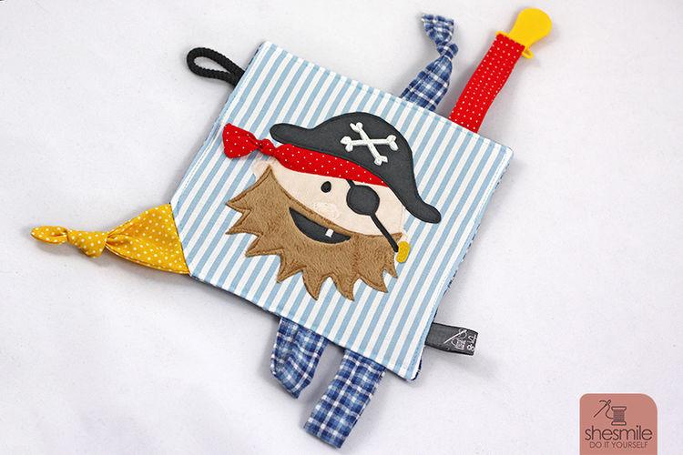 Makerist - Piraten-Knistertuch - Nähprojekte - 1