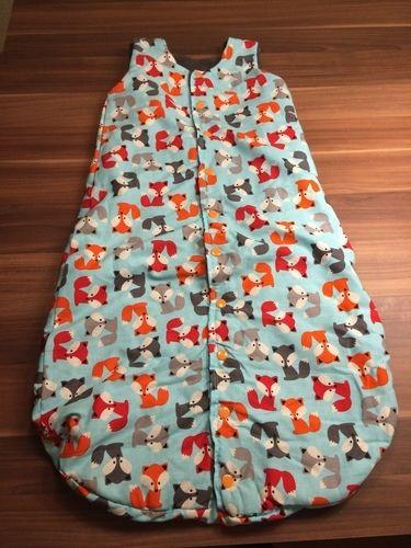 Makerist - Schlafsack für Babys aus Baumwolle und Fleece - Nähprojekte - 1