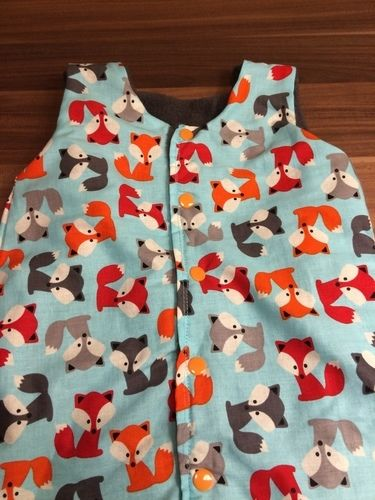 Makerist - Schlafsack für Babys aus Baumwolle und Fleece - Nähprojekte - 2