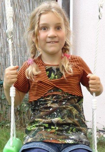 Makerist - Mädchenshirt - Nähprojekte - 1