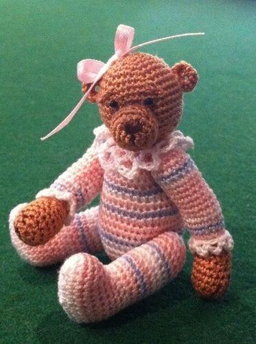 Makerist - Olivia Minature Bear - Crochet Showcase - 2