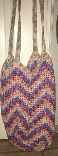 Makerist - Umhängetasche - Wolle von Woll Butt - für mich selbst gefertigt - Häkelprojekte - 1