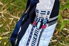 """Makerist - Sommertasche """"Skippy"""", Baumwolle, bestickt, für mich - 1"""