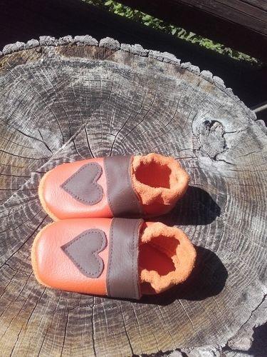 Makerist - Herzpuschen aus Leder 💚 - Nähprojekte - 2