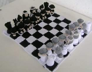 Makerist - Schachspiel Samurai Häkelanleitung - 1