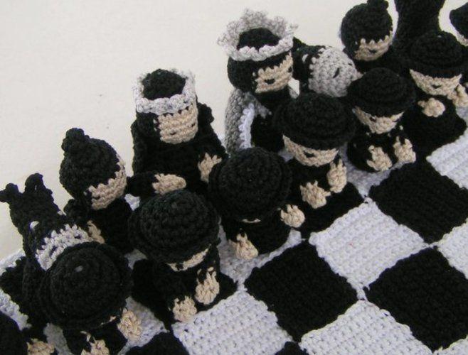 Makerist - Schachspiel Samurai Häkelanleitung - Häkelprojekte - 3