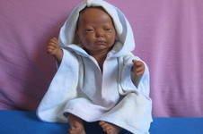 Makerist - Bade-Poncho für Puppenkinder - 1