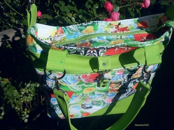 Makerist - SchickiMicki Bag von UNIKATI - Jede Naht ein Unikat - Nähprojekte - 2