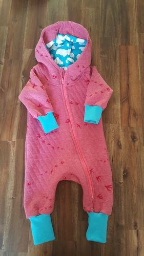 Makerist - Baby-Overall Gr. 62 aus Stepp-Sweat - Nähprojekte - 1