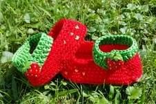 Makerist - Erdbeerschuhe  - 1