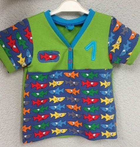 Makerist - Shirt zum 1. Geburtstag - Nähprojekte - 1