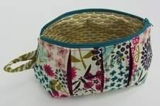 Makerist - Faltschick Täschchen in Blütenpracht - 1