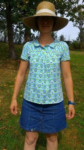 Makerist - Fühl dich glücklich Shirt - Nähprojekte - 1