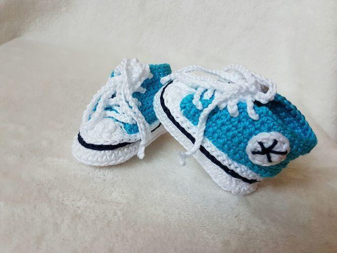 Makerist - Converse für kleine Füße.  - Häkelprojekte - 1