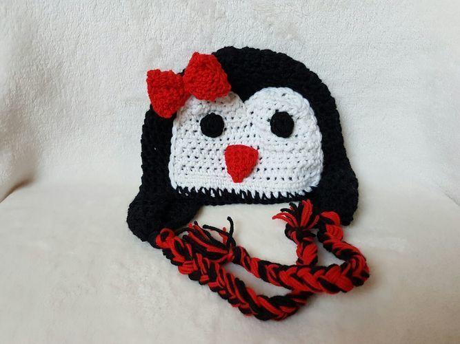 Makerist - Pinguin-Haube. - Häkelprojekte - 1