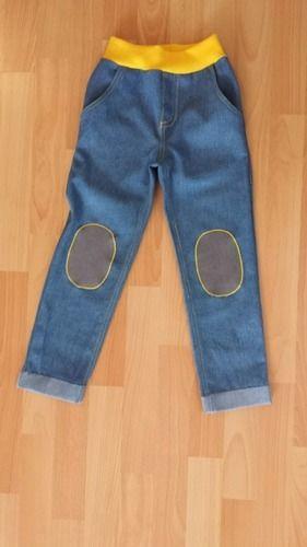 Makerist - Jeans mit Knieaufnähern - Nähprojekte - 1